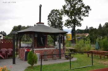Penzion a Restaurace Na Kovárně, terasa, venkovní gril