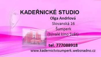 Kadeřnické studio - Olga Andrlová