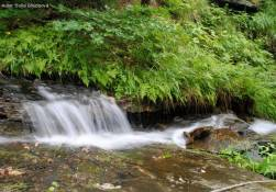 Vodopád akaskády Vražedného potoka