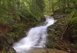 Vodopád na Malé Moravě