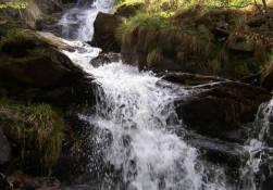 Vodopád na Borovém potoce