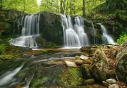 Vodopád na Poniklém potoce