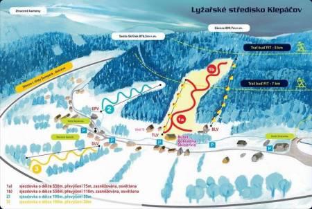 Lyžařské středisko Klepáčov
