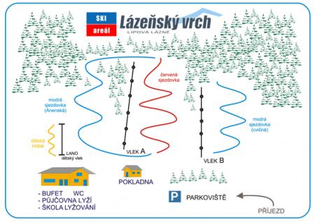 Lyžařský areál Lázeňský vrch