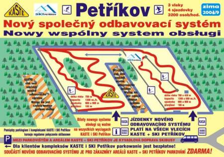 Lyžařský areál Petříkov (Ski Petřikov + KASTE Petříkov)