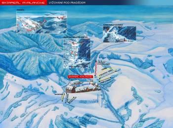 Ski areál Avalanche