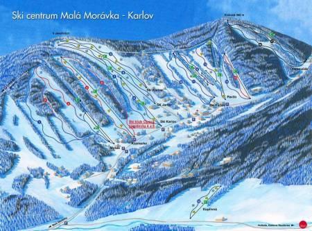 Ski centrum Malá Morávka - Karlov